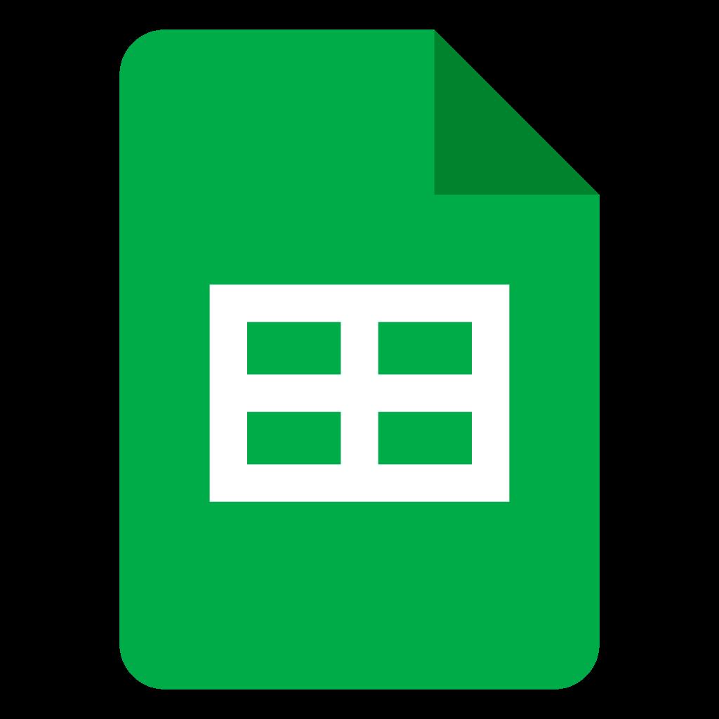 google workspace sheets